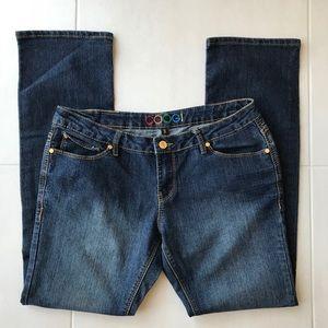 Coogi Dark Cotton Stretch Straight Leg Jeans J110
